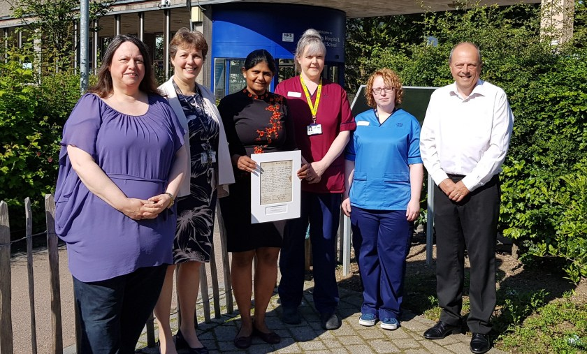 MAIN Gynaecological cancer team recognised with prestigious award (1)
