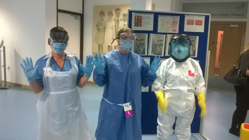 SIDE Use of PPE for suspected cases of Ebola