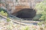Natural entrance of Carlsbad Cavern