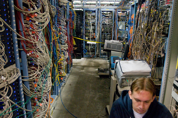 Chris Pinkenburg assured us that they know what all of these cables do.