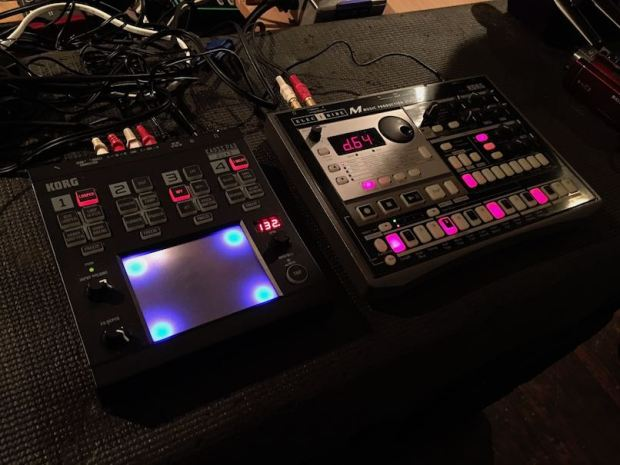 KORG ELECTRIBE EM-1 and KAOSSPAD QUAD