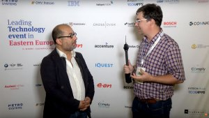 Newton Howard interview at Leading Tech event in Eastern Europe
