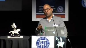 Newton Howard talks at Tech Summit