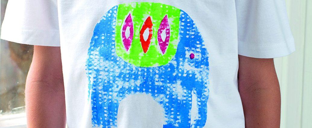 ecd653aa ni4kids | Crafty Kids: Elephant Print T-shirt