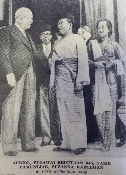 Dubes Mr. Datuk M. Nazir St. Pamuncak