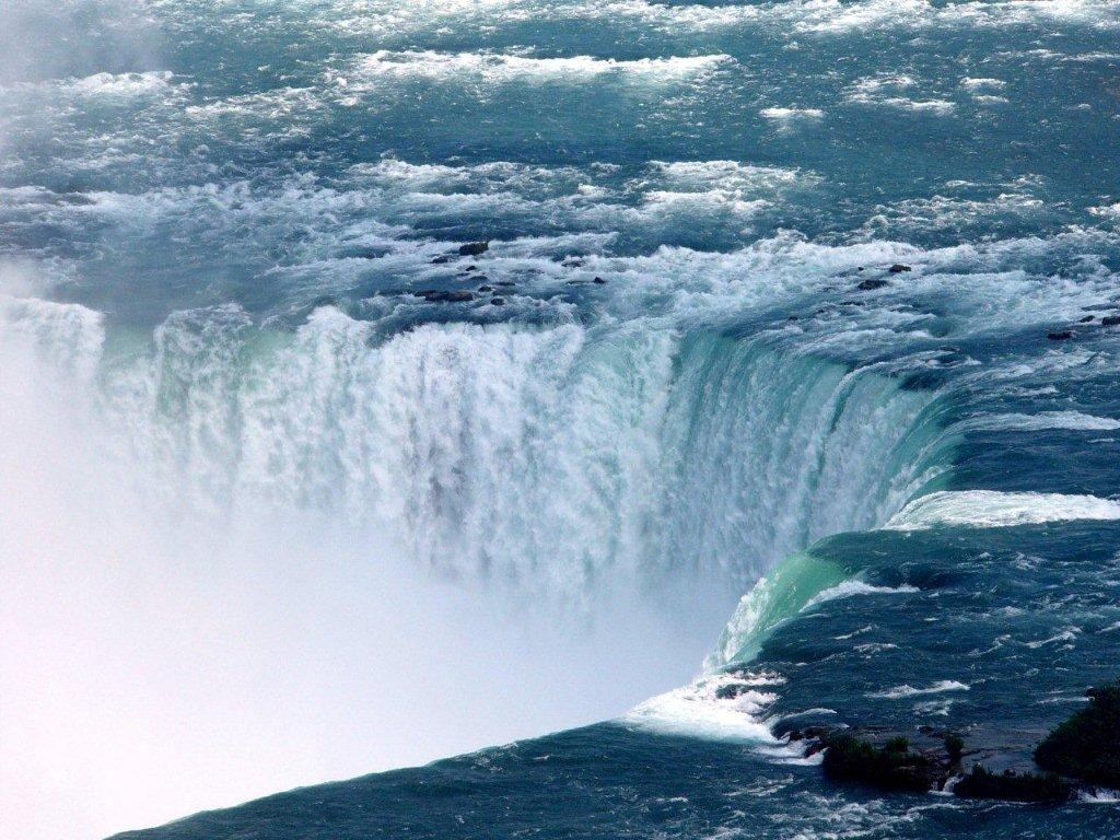 Download this Niagara Falls Rainbow... picture