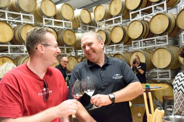 Trying to turn water into wine with Marcel Morgenstern of Pondview and Burnt Ship Bay