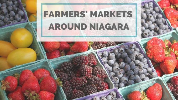 farmers' markets around niagara