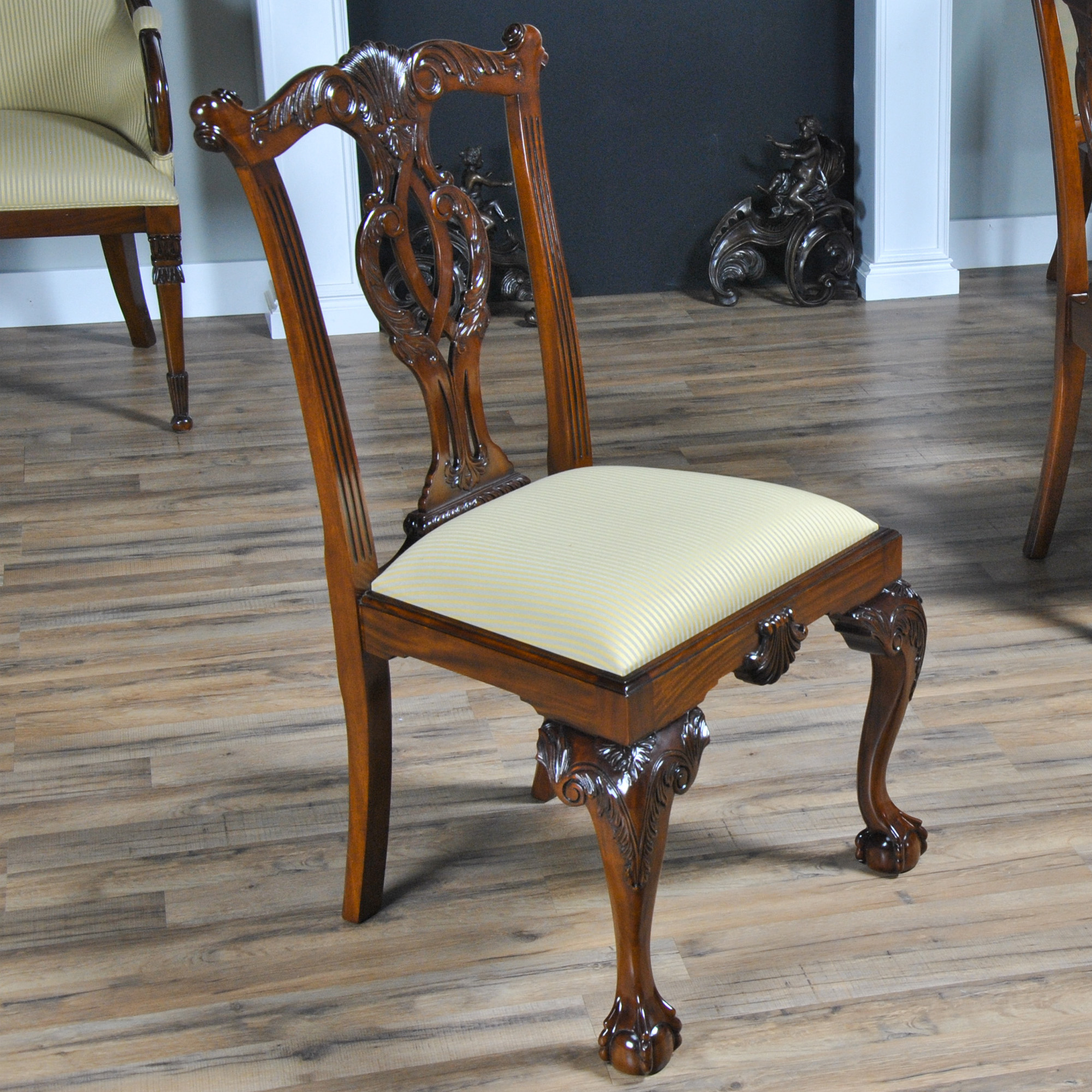 Philadelphia Chippendale Chairs Set Of 10 Niagara Furniture