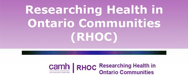 Researching Health in Ontario Communities