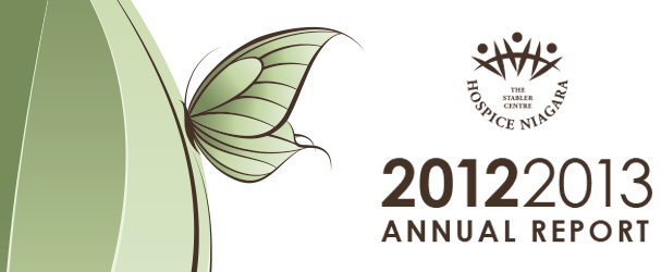 Hospice Niagara Annual Report 2012-2013
