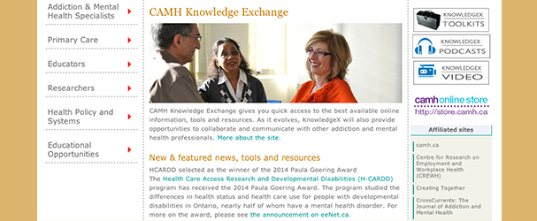 CAMH Knowledge Exchange