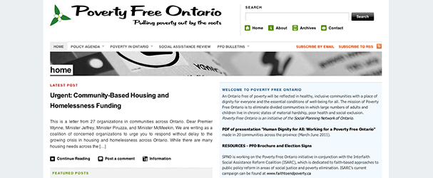 Poverty Free Ontario