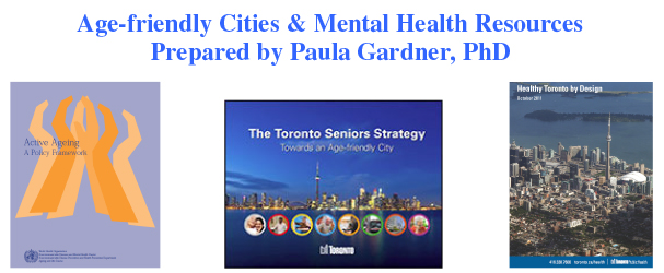 NIAGARA AGE FRIENDLY WEBINAR SUPPLEMENTARY RESOURCES