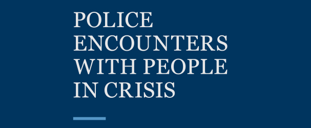 police enctounters with people in crisis