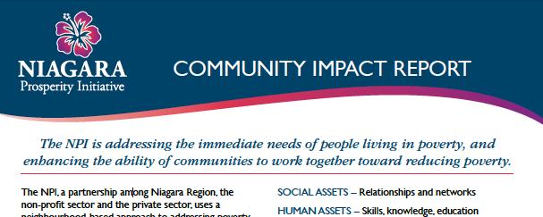 Community impact report image