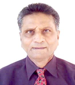 Portrait of Ram M. Mehta