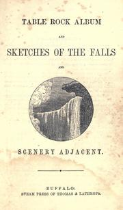 Title page of Table Rock Album