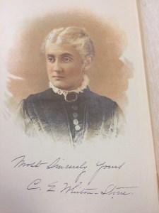 Portrait of Cara Elizabeth Whiton-Stone