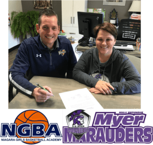 NGBA-Myer Signing Photo