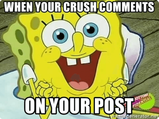 respond to comments from users