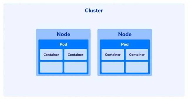 nodes in the cluster