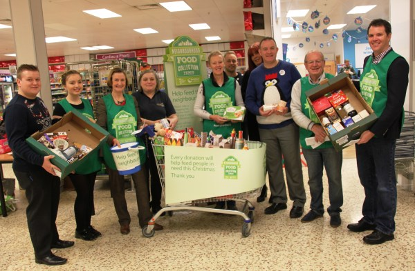 Trussell Trust food bank Tesco