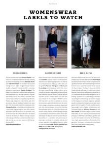 WeAr 47, Womenswear Labels to Watch, Gauchere