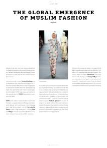 "WeAr 2.17, Issue 50, ""The Global Emergence of Muslim Fashion"""