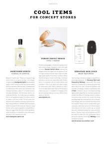 "WeAr 2.17, Issue 50, ""Cool Items for Concept Stores: Kerastase Smart Brush"""