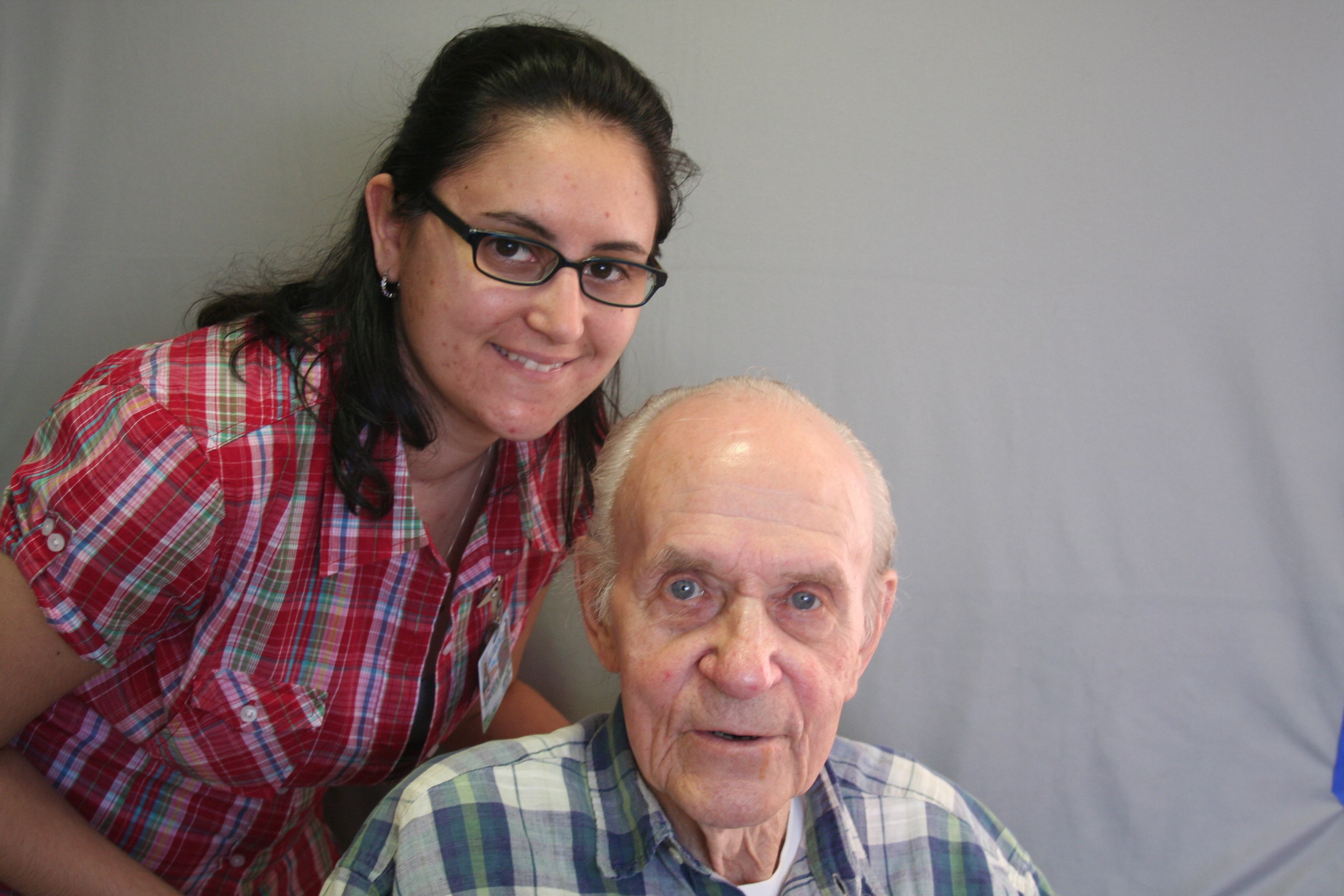 StoryCorps: Gunnar Sande & Amy Christodoulou