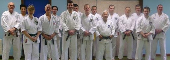 karate in Omagh class