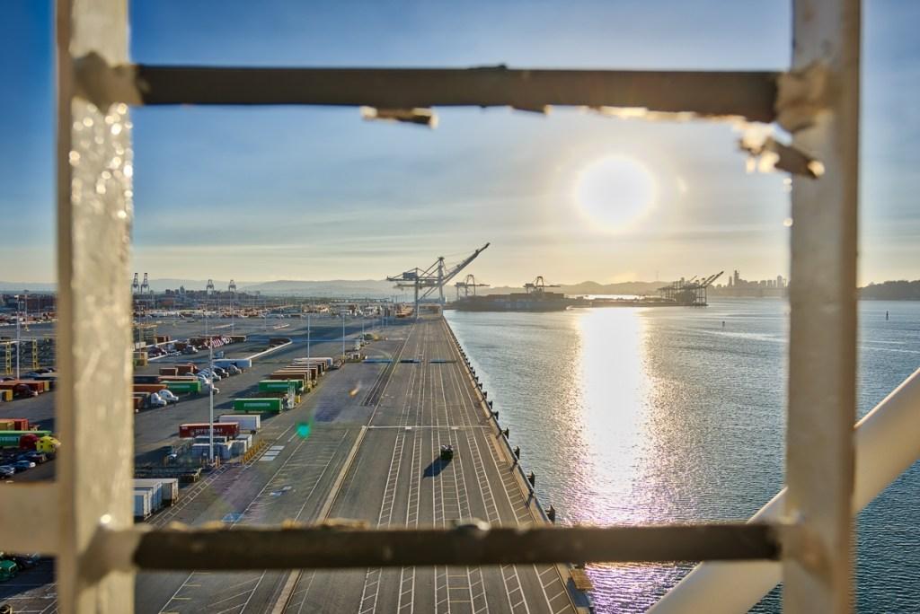 San Francisco Bay Area Shipping Port