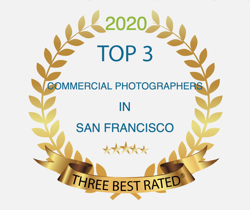 Three Best Rated Top 3 Commercial Photographers San Francisco 2020