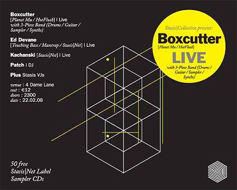 , Boxcutter Dublin Gig and Live Sessions