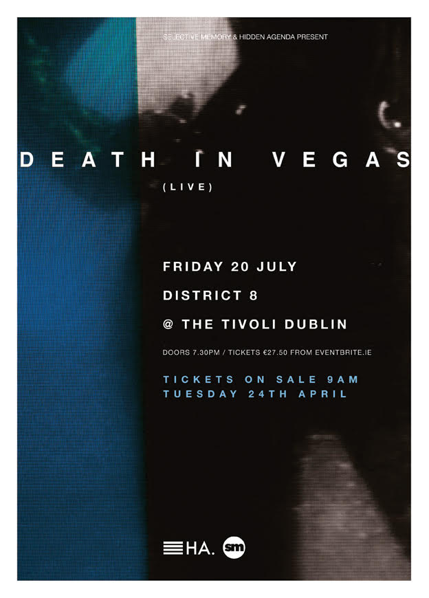 , Death In Vegas announce Dublin show