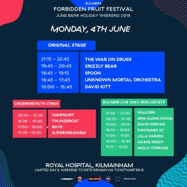 , Here's your Bulmers Forbidden Fruit festival playlist