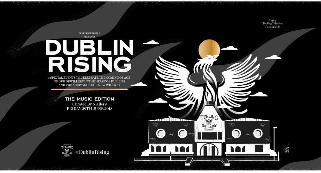 , Nialler9 curates the first Teeling's Dublin Rising Music event on June 29th, here's the lineup