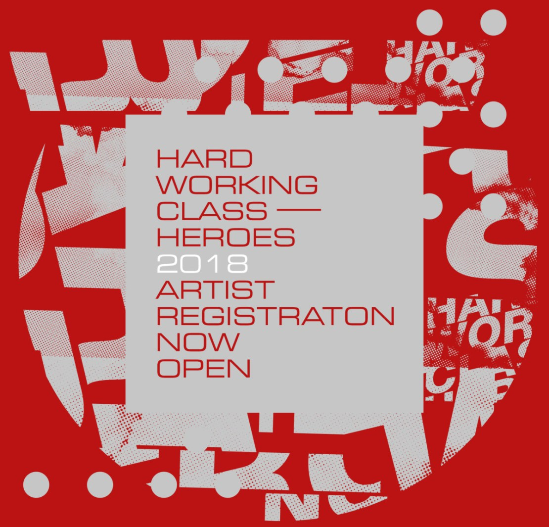 Hard Working Class Heroes, Applications for Hard Working Class Heroes 2018 now open