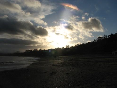 """""""Every cloud has a silver lining"""" Killiney Beach, County Dublin, Ireland"""