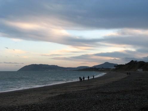 """The edgeof twilight"" - Killiney Bay looking towards Bray Head, County Wicklow, Ireland"
