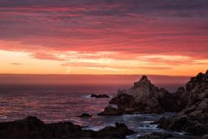 Big Sur Sunset, Monterey, Niall Whelan Photography,