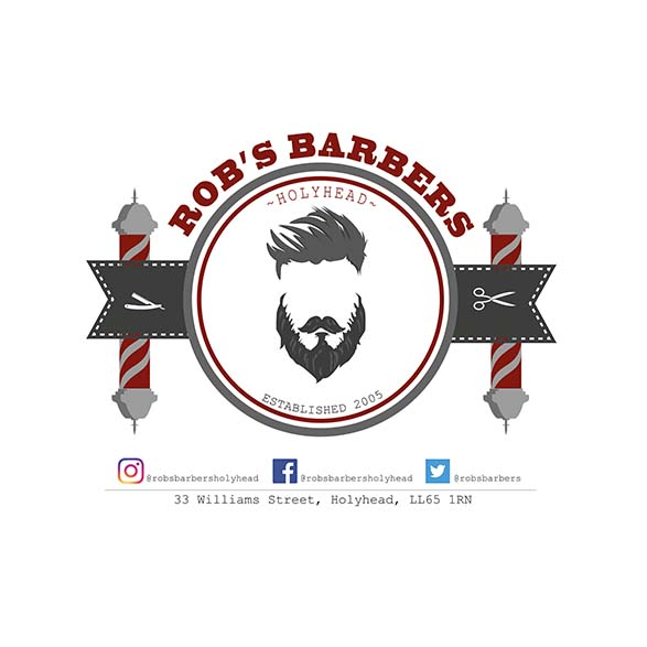 Robs Barbers Logo Design