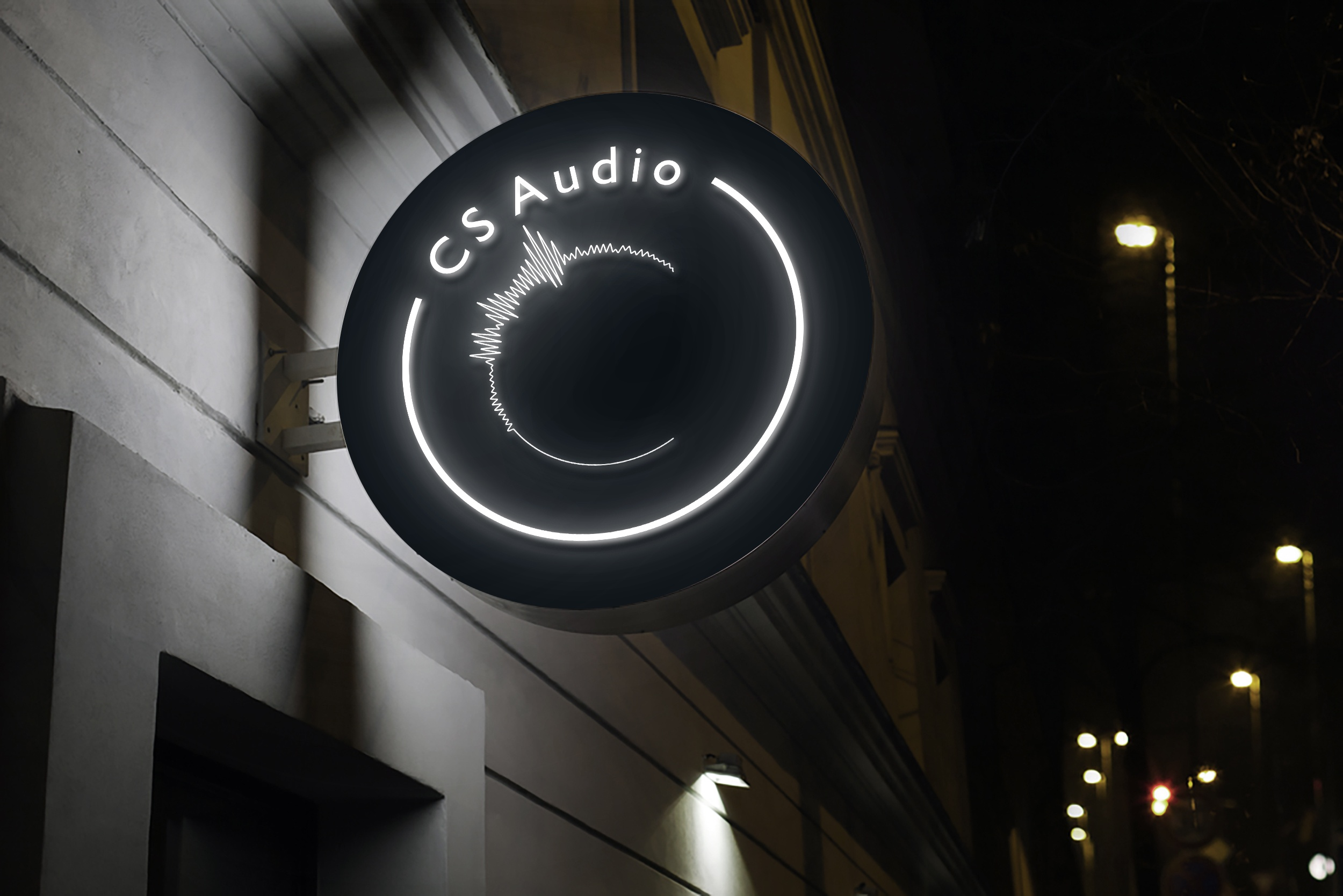 CS Audio Logo Design