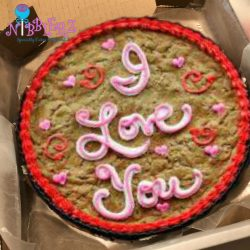 Giant Cookie Cakes