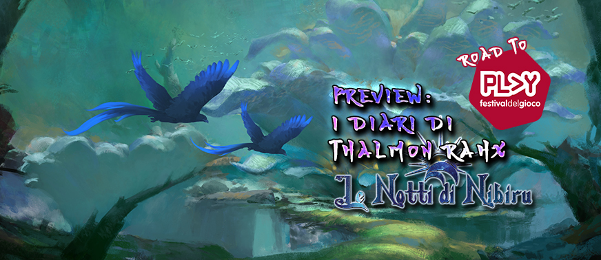 Cover Diari di Thalmon Rahx Road to Play Le Notti di Nibiru Preview