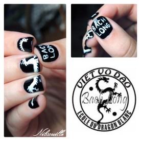 Nail art Viet Vo Dao.