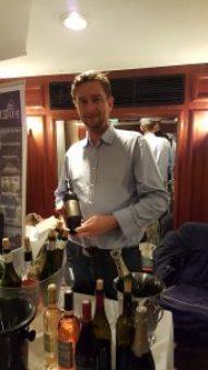 Christophe que j'ai eu la chance de prendre en photo au salon des vignerons lauréats !