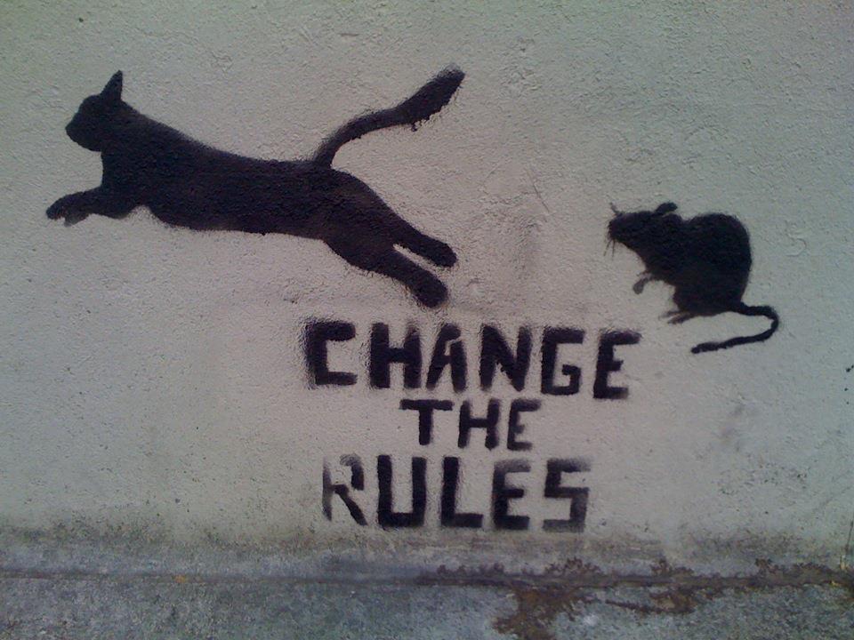 Et si on (re)changeait les règles.