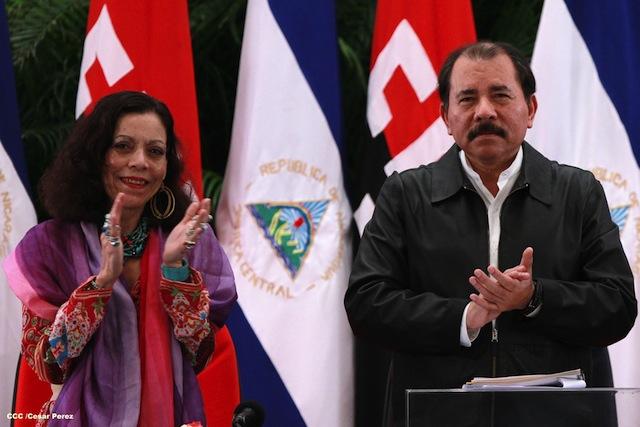 Resultado de imagen de Daniel y Rosario Murillo Nicaragua